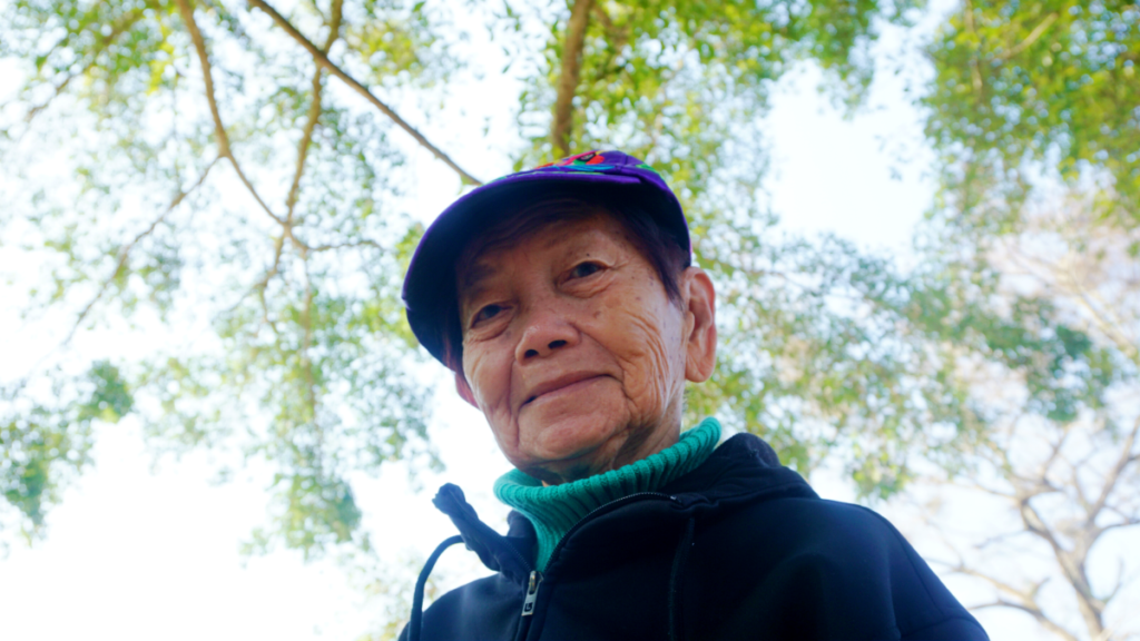 A portrait of my beautiful grandmother who has Alzheimers, taken in China